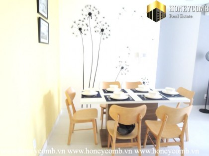 Beautiful three beds apartment with modern furniture in Tropic Garden for rent.