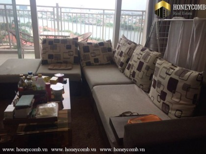 Wonderful 3 bedrooms apartment in Xi Riverview for rent, river view, cheap