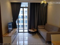 1 bedroom fully furnished, completely new furniture for rent in Vinhome Central Park
