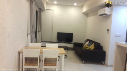 Low floor 2 beds apartment with balcony in Masteri Thao Dien