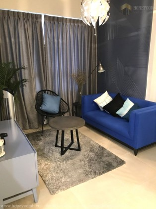 Simple 2 beds apartment with classic for rent in Masteri Thao Dien