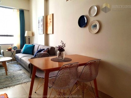 2-beds apartment with high floor in Masteri Thao Dien