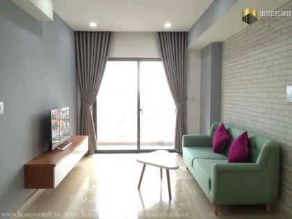 Căn hộ 2 phòng ngủ với cảnh đẹp tại Masteri Thảo Điền cho thuê