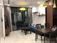 Luxurious furniture 2 bedroom apartment in Vinhomes Golden River