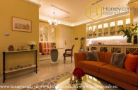 Two bedrooms apartment with luxury design and furniture in Vinhomes Golden Rivrer