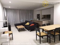 Wonderful 3 bedroom apartment with nice view in City Garden for rent