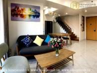 Duplex Masteri Thao Dien 3 bedroom apartment for rent