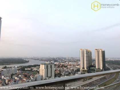 Unfurnished 3 bedroom apartment with river view in The Estella Heights
