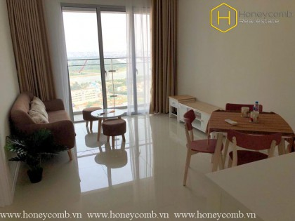 Simple furnished with 1 bedroom apartment in The Estella Heights