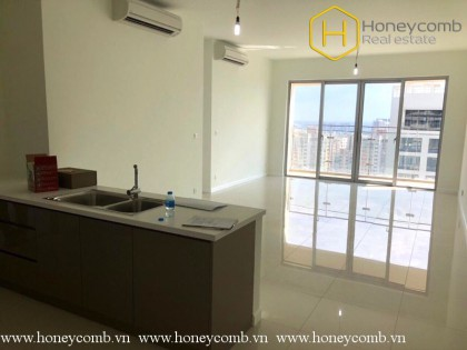 Unfurnished 3 beds apartment with good view in The Estella Heights