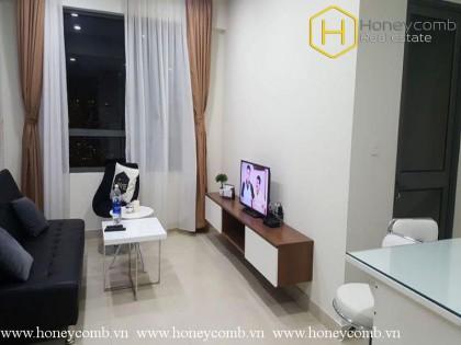 Wonderful 1 bedroom apartment with high floor in Masteri Thao Dien