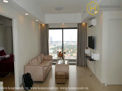 Nice view 2 bedroom apartment in Masteri Thao Dien for rent