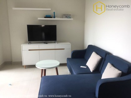 Masteri Thao Dien 2 beds apartment with river view and pool view