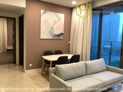 Luxuxy design 2 bedroom apartment in The Nassim Thao Dien