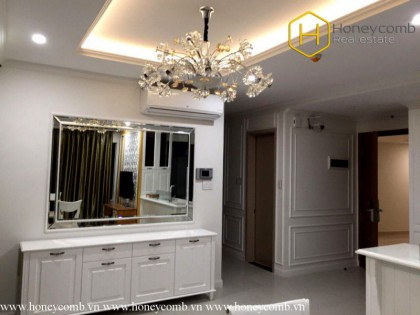 Luxurious furniture 3 bedroom apartment in Newcity thu Thiem for rent