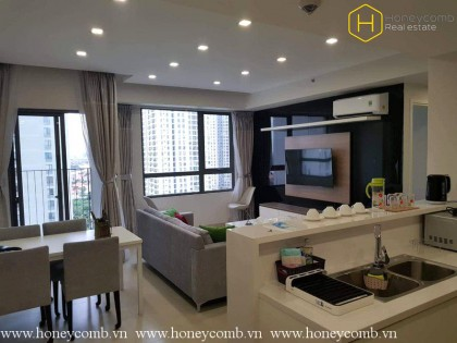 Modern style two bedroom in Masteri Thao Dien for rent