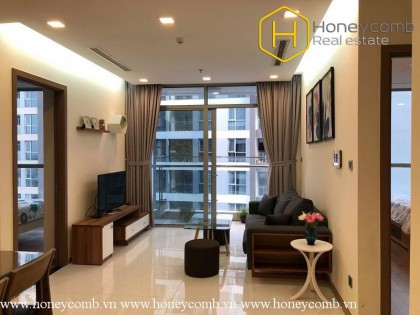 Modern Amenities with 2 bedrooms apartment in Vinhomes Central Park for rent