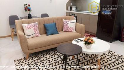 Thiết kế tiện nghi và hiện đại với căn hộ 1 phòng ngủ cho thuê tại Vinhomes Central Park