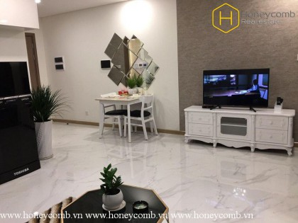 Sparkling with 1 bedrooms apartment in Landmark 81 for rent