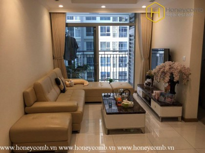 2 bedrooms aprtment fully furnished in Vinhomes Central Park for rent
