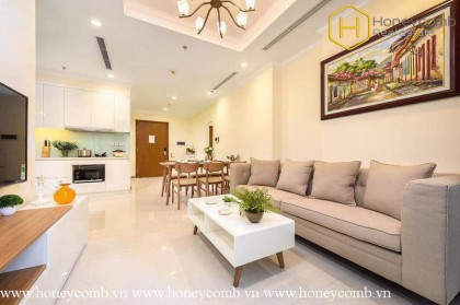 2 bedroom apartment good view in vinhomes Central Park for rent