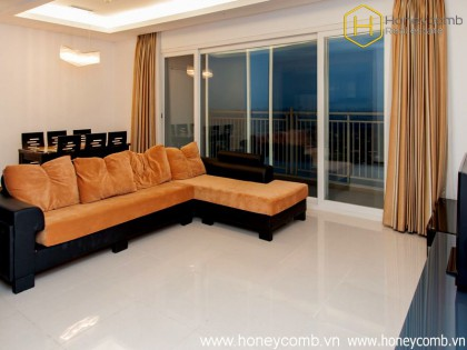 Brand new and cute 3 bedrooms apartment for rent in Xi Riverview