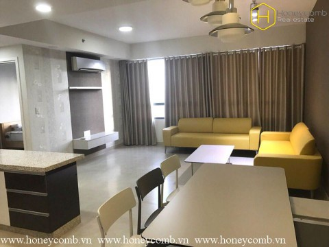 Beautiful three beds apartment with modern furniture in Masteri for rent