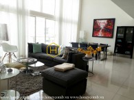 Penthouse apartment four bedroom with full furniture in The Estella for rent