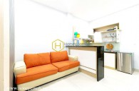 Simple and cozy design service apartment for rent in District 2
