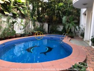 Classical and rustic villa perfectly located in the heart of District 2 for rent