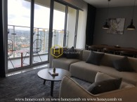 Fully-furnished & modern design apartment for rent in Estella Heights