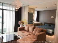 City garden 1 bedroom apartment with nice furnished