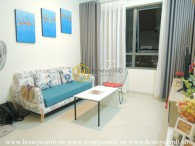 Colorful 1 bedroom apartment for rent in Masteri