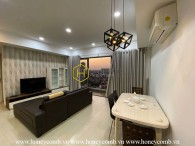 Open view apartment with moderate price is available for rent in Masteri Thao Dien