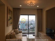 This ultra elegant apartment for rent is waiting for you at Masteri Thao Dien