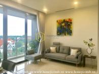 Căn hộ 1 phòng ngủ không nội thất cho thuê tại The Nassim Thảo Điền