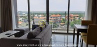 Three bedroom apartment with nice view in The Nassim Thao Dien