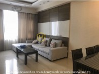 Exquisite apartment with beautiful minimalist style in Saigon Pearl for rent