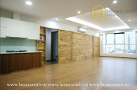 Thao Dien Pearl 3 bedroom apartment with unfurnished for rent