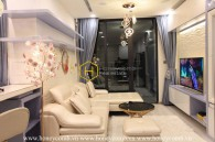 Fully-equipped with smart furniture apartment for rent in Vinhomes Golden River