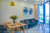 Dreamy apartment with elegant and romantic design in Vinhomes Golden River for rent