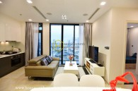 Fully-furnished with modern layouts apartment for lease in Vinhomes Golden River
