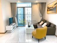 Nội thất đầy đủ với khung cảnh tuyệt đẹp và 2 phòng ngủ tại Vincomes Central Park cho thuê