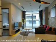 Elegant and fully-furnished 2 bedrooms apartment in Vinhomes Central Park