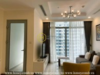 Fully furnished and modern design apartment for rent in Vinhomes Central Park