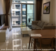 Feel the elegance and luxury in this apartment for rent in Vinhomes Central Park