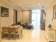 Simple and elegant design apartment for rent in Vinhomes Central Park