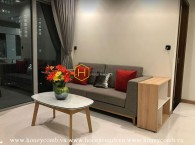 Spacious and elegant design apartment for lease in Vinhomes Central Park