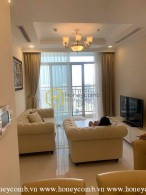 The standard apartment in Vinhomes Central Park will make you pleasure