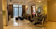 Such an amazing opportunity to live in this classy apartment in Vinhomes Central Park for rent